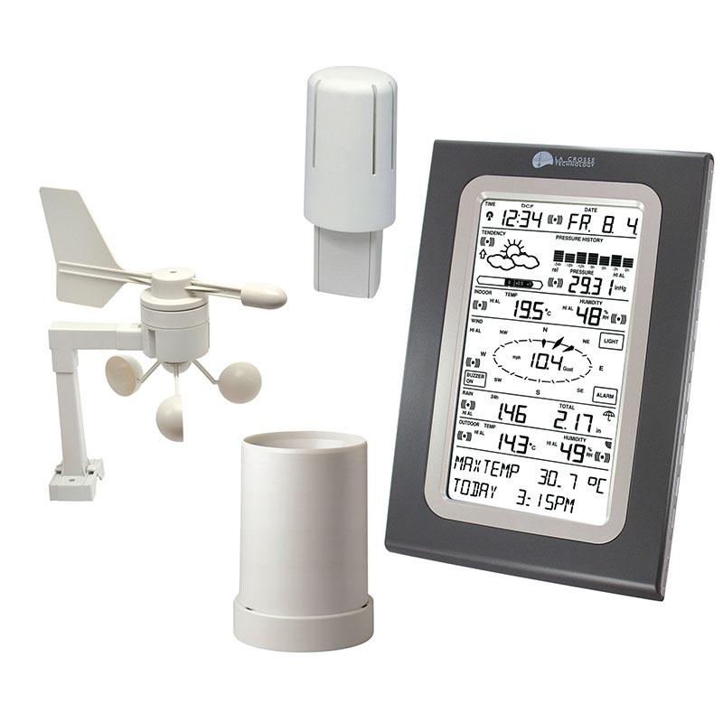 station professionnelle familiale la crosse technology. Black Bedroom Furniture Sets. Home Design Ideas