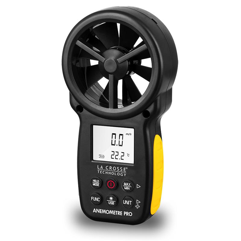 Brand New La Crosse Technology Ws9500 Hand Held Anemometer Wind Gauge